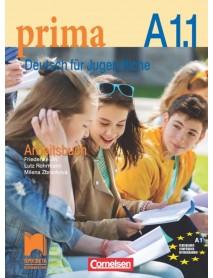 Prima. Deutsch für Jugendliche Arbeisbuch- A1.1 Учебна тетрадка по немски език за 9. клас