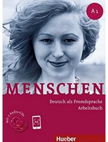 Menschen A1 Arbeirsbuch- Учебна тетрадка по немски ези A1
