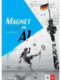 Magnet smart A1 band 1  Arbeitsbuch mit Audio CD - Учебна тетрадка по немски език