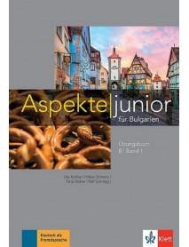 Aspekte junior für Bulgarien B1 band 1 Ubungsbuch + Audio-CD -Упражнителна тетрадка по немски език