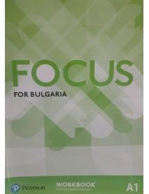Focus for Bulgaria A1 workbook -  Учебна тетрадка по английски език ниво A1