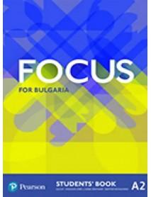 Focus for Bulgaria student`s book - Учебник по английски език ниво А2.