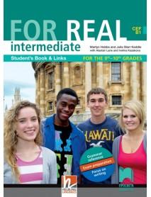 For real intermediate B1 student`s book - Учебник по английски език за 9. и 10. интензивен клас - ниво В1