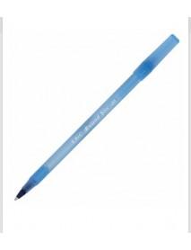 Химикалка Bic round stic M 0.7мм - синя
