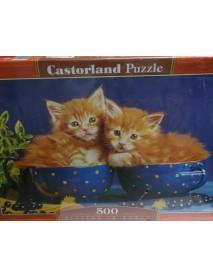 Пъзел : Котки 500 елемента