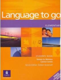 Language to go elementary student`s book . Учебник по английски език