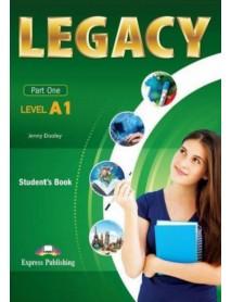 Legacy -ниво А1 student`s book за 8 клас. Учебник по английски език.
