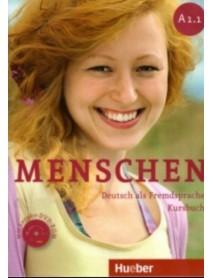 Menschen A1.1 Kursbuch- Учебник по немски ези A1.1