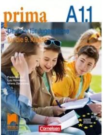 Prima. Deutsch für Jugendliche- A1.1. Учебник по немски език за 9. клас