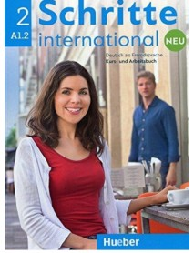 Schritte international 2 neu A1.2 Deutsch als Fremdsprache Kurs- und Arbeitsbuch. Учебник и работна тетрадка по немски език за чуждо говорящи ниво А1.2