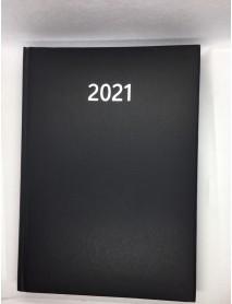 Бележник с дати 14х20 , 168 листа черен