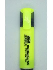 Текст маркер за подчертаване Marvy Uchida-цвят жълт
