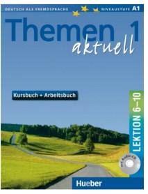 Themen aktuell 1 lektion 6-10 kursbuch+ Arbeitsbuch