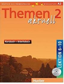 Themen aktuell 2 lektion 6-10 kursbuch+ Arbeitsbuch