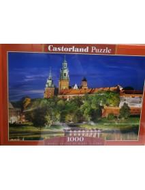 Пъзел : Замък през нощта, Полша 1000 елемента